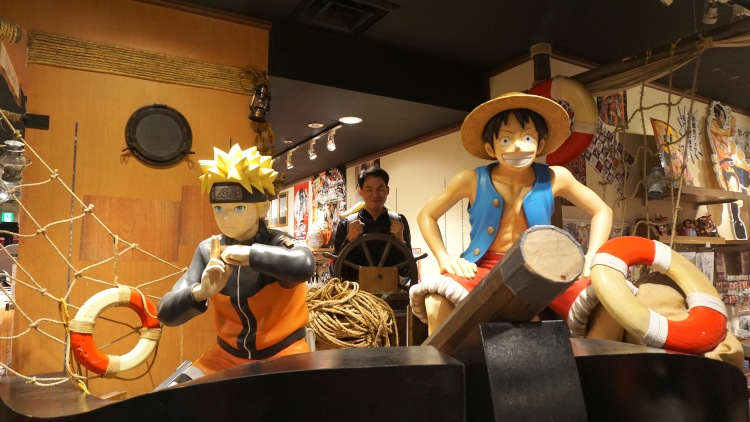 28 Japan Universal Osaka Anime Naruto One Piece
