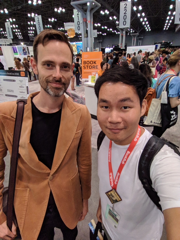 With Ransom Riggs!