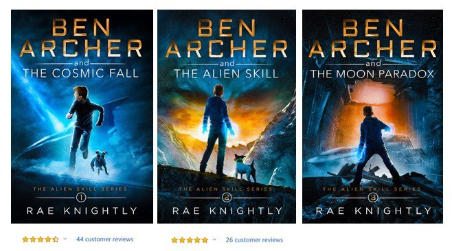 Rae Knightly The Alien Skill Series
